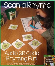 Free: QR Code Rhyming Activity  Perfect for a St. Patrick's Day Independent learning station