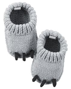 Baby Boy Monster Crocheted Booties | Carters.com