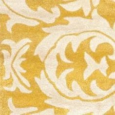 Safavieh Handmade Soho Gold/ Ivory New Zealand Wool Rug (2'6 x 12')