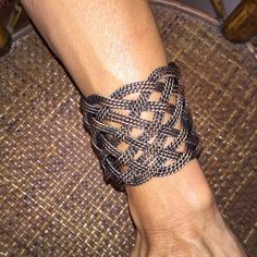 Copper Cuff Bracelet My oversized Copper Cuff Bracelet is looking for a new home! This super pretty braided design can be worn low on your wrist or higher up on your arm. Perfect for a night out on the town or casual day at the office. Beautiful piece!!! My prices fluctuate from time to time. Catch items when the prices are low!❤️ Jewelry Bracelets