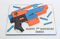 Nerf Gun by The Chain Lane Cake Co.