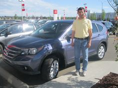 Congrats to Jim on the purchase of your new 2013 Honda CR-V!