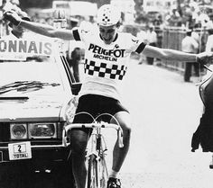 Robert Millar This clip only shows a very small part of the epic day that brought Millar his first win at the Tour in 1983. http://pages.rapha.cc/en_AU/racing-en_au/panache-part-three