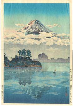 Tsuchiya Koitsu: Koshu Lake Kawaguchi — 甲州 河口湖