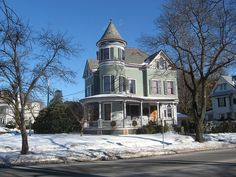 Hooker Ave. Victorian, Poughkeepsie NY