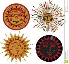 Illustration of bactrian in ethnic patterns vector art, clipart and stock vectors. Sun Moon Stars, Sun And Stars, Sun Tattoos, Celtic Tattoos, Sun Illustration, Landscape Illustration, Sun Worship, Tribal Sleeve Tattoos, Sugar Skull Tattoos