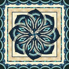 Check out this original color-way designed by jayeboyack y. Sign up on www.quiltster.com to create your own.