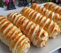 Yufkayla kolaylıkla yapabileceğiniz nefis kafes böreği, kahvaltının tadını çıkarın..