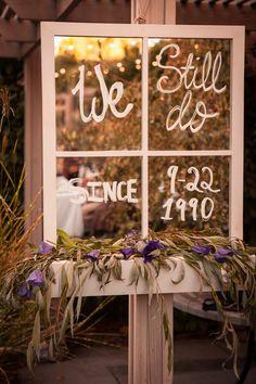 We still do wedding anniversary sign!