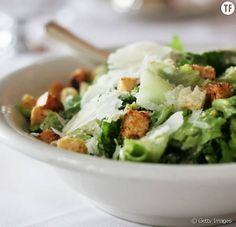 Caesar Salad Weight-Watcher-Recipes Add chicken for a low cal dinner Ww Recipes, Salad Recipes, Cooking Recipes, Healthy Recipes, Healthy Salads, Healthy Eating, Healthy Vegetables, Fresh Vegetables, Low Cal Dinner