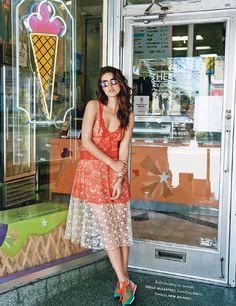 visual optimism; fashion editorials, shows, campaigns & more!: splash: emily didonato by bjarne jonasson for elle france 4th july 2014