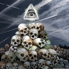 The illuminati and those few 'elite' groups that hold the positions of power and control today have (and always have had) a very specific agenda that Halloween Home Decor, Halloween House, Michael Hudson, Demonology, All Seeing Eye, Evil Spirits, Conspiracy Theories, Allergies, Skeletons