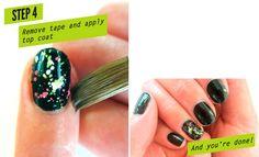 How-To: Splatter Nails   Beautylish