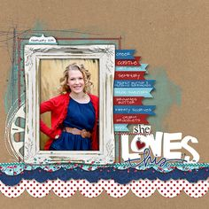 She Loves This - Scrapbook.com
