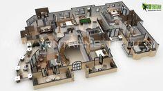 3D Floor Plan Design, Interactive 3D Floor Plan | Yantram Studio