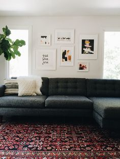 Eyes Up Here: 5 Tips For Making A Gallery Wall Focal Point