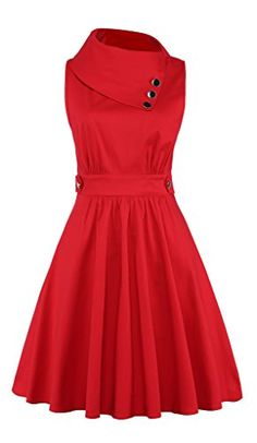 Elf Queen Women's Elegant Vintage Cocktail Party Wedding Evening Dress US Size M Red ** See this great product. Elegant Dresses For Women, Party Dresses For Women, Dresses For Work, 1950s Fashion Dresses, Vintage Dresses, Vintage Outfits, Red Wedding Dresses, Evening Dresses For Weddings, Diy Fashion