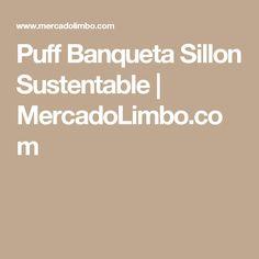 Puff Banqueta Sillon Sustentable   MercadoLimbo.com