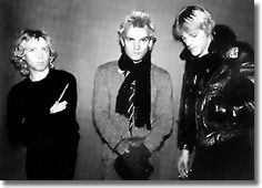 The Police: Andy Summers, Sting & Stewart Copeland  1977