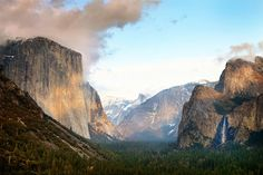 "Breaking Clouds over Yosemite | An ""almost"" storm.… 