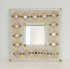 Mosaic Mirror by ohyespleasethankyou on Etsy