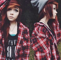 lover her hair and style :) - she's soooo pretty...not sure if I could pull this off lol