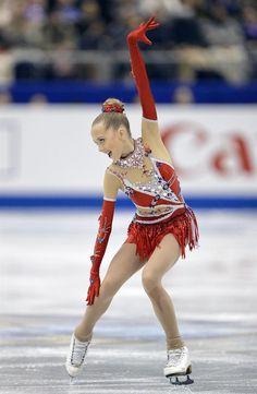 Awe, I hope she never grows up! FRA. Fukuoka (Japan), 07/12/2013.- Elena Radionova of Russia performs during the Ladies' Free Skating competition of the ISU Figure Skating ...