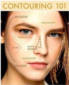 Highlighten & Konturieren des Gesichts... - BarbarYs Welt