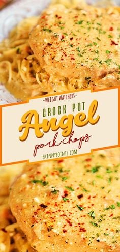 Crock Pot Angel Pork Chops #weightwatchers #ww #recipes #food #lowcarbs #keto #crockpot #crock_pot #angel #pork #chops