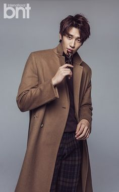 kim youngkwang for bnt international november issue 2014