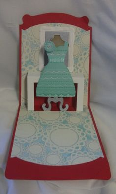 1 keep calm dress card open close up - Stampin' Connection