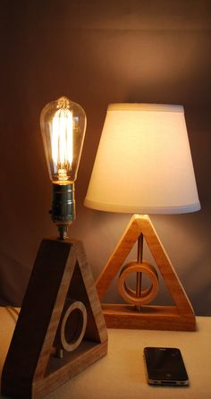 IMPORTANT NOTE: Your Deathly Hallows Lamp is Made-to-Order and will ship 2 weeks from the date it is ordered  The MINI Deathly Hallows