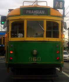 Melbourne tram - used to ride this one to school many moons ago :)