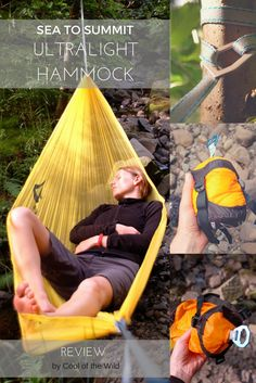 The lightest hammock in the world – yes that's right!