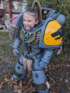 Warhammer 40k Space Wolf Boy - Cosplay Costume 7 by Killhunger