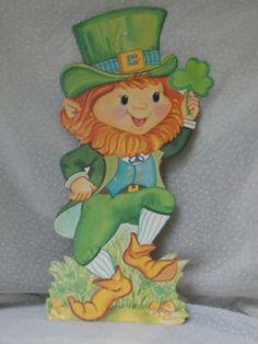 Vintage St Patrick's Day Decoration Leprechaun, $2.99