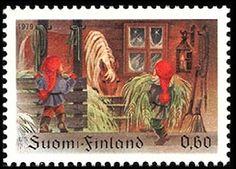 Joulupostimerkki 1979 - Sulje napsauttamalla kuvaa