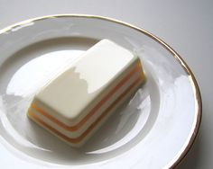 Coconut Panna Cotta and Pineapple Gelée Terrine by Clement Lo, via Flickr