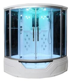 Eagle Bath WS-703 Steam Shower w/ Whirlpool Bathtub Combo Unit