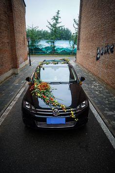 Wedding Car Decoration \Wedding Car Floral Design\Flowers for Wedding Car European Floral Design Education Wedding Car Decorations, European Wedding, Floral Design, Bmw, Education, Flowers, Autos, Europe, Car Decorating