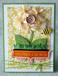Such a beautiful card! by Heidi Sonboul at @American Crafts