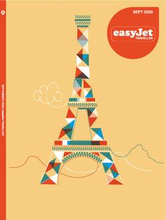 Click to enlarge illustration: Easy Jet Cover - Magazine - Editorial - Travel