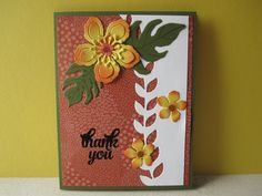 Botanical Blooms. Card made by Debbie Reed