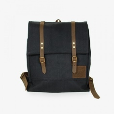 Rucksack Negro by Coyote Handmade Bags - Medium size and made of waterproof canvas | MONOQI