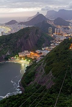Rio de Janeiro - View from Sugarloaf Mountain, Brazil by Porter Yates (on Fireside Fusion's Facebook site)
