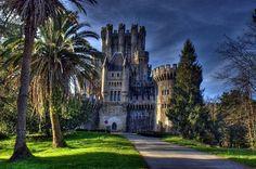 Butron castle in Gatika, Spain