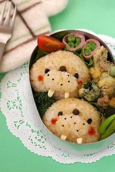 (image only - lots of other lovely bento images on this site)