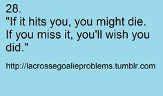 lax goalie problems