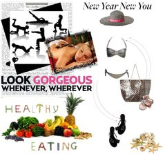 """""""2013 Goals! New Year, New You!"""" by iamhoneycat on Polyvore"""