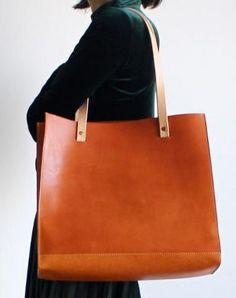 bcb10b5c51 Handmade Leather Tote Purse Handbag Shoulder Bag Large for Women Leather  Shopper Bag #leatherpursedesign Divat